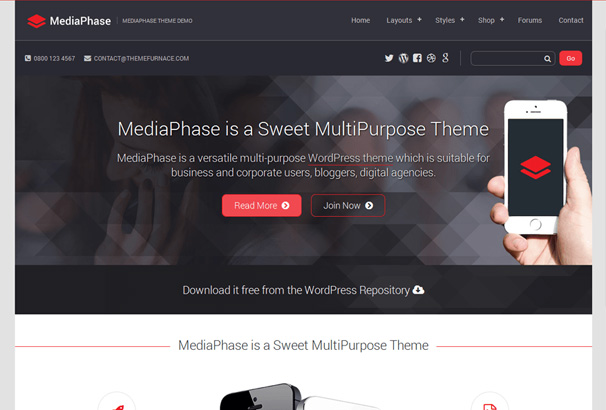 Best free one page wordpress themes 2017 more info demo wordpress hosting wajeb Image collections