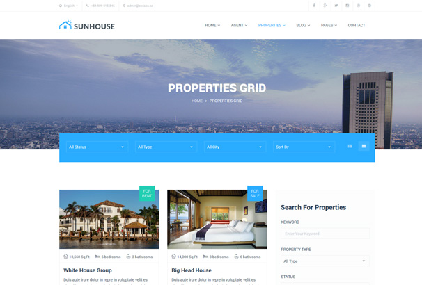 Best WordPress Real Estate Themes 2018 Agencies Realtors Directories