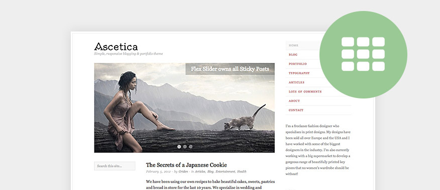 Free Minimalist Blog WordPress Themes
