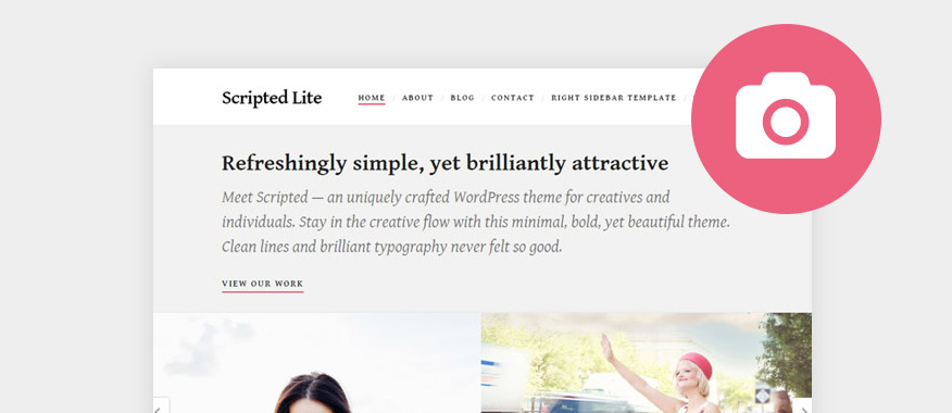 Best Free Minimalist WordPress Portfolio Themes