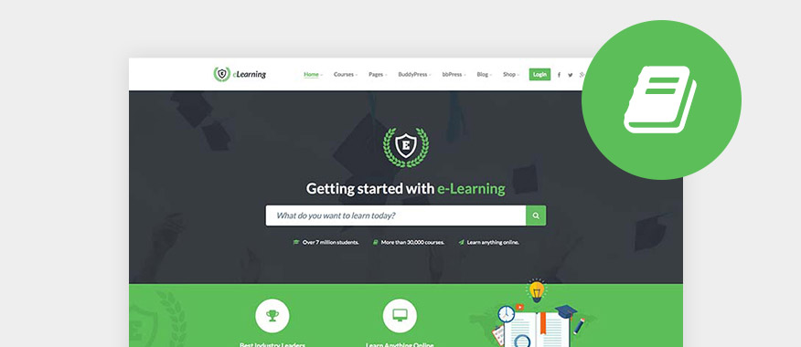 50 Best Lms Learning Management System Wordpress Themes 2019