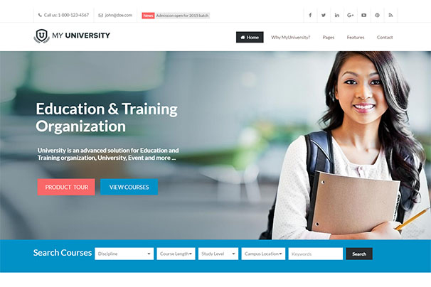 50+ Best LMS (Learning Management System) WordPress Themes 2018