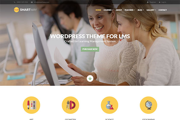 50 best lms learning management system wordpress themes 2017