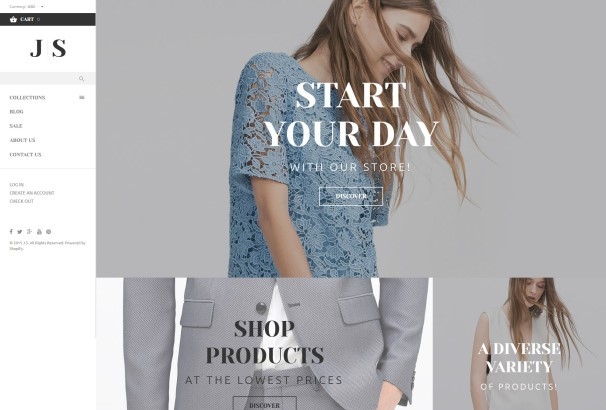 60 best fashion clothing shopify themes 2017 apparel accmission Choice Image