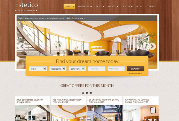 Incroyable 60+ Best HTML Real Estate Website Templates 2019