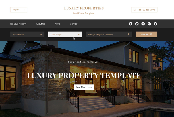 60 best html real estate website templates 2017 for Build your own home website