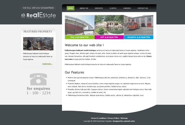 60 Best Html Real Estate Website Templates 2019