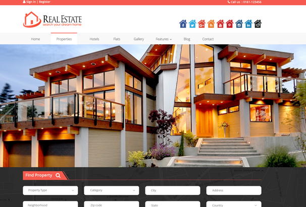 60+ Best HTML Real Estate Website Templates 2017 Real Estate House Logo Design Html on maryland logo design, realtor logo design, housing works logo design, non-profit organizations logo design, home inspection logo design, publishing house logo design, property management logo design, search logo design, apartment logo design, building logo design, key logo design,
