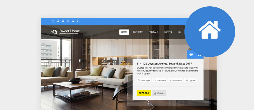 HTML Real Estate Website Templates