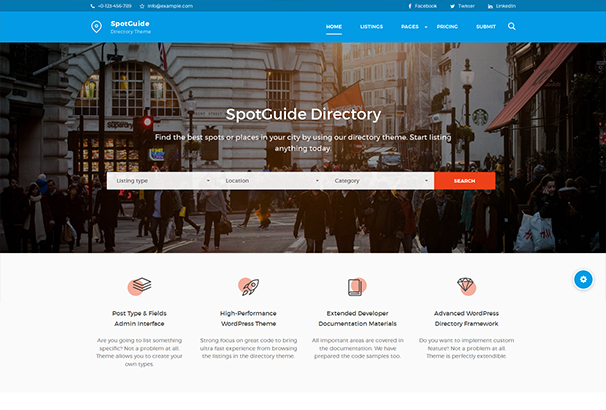60 best directory wordpress themes updated for 2018