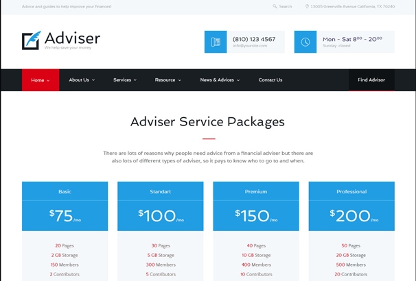 40 best accountant wordpress themes updated for 2018 the theme is perfect for firms who provide financial investment tax related or legal help the layout offers comprehensive staff presentation and full maxwellsz