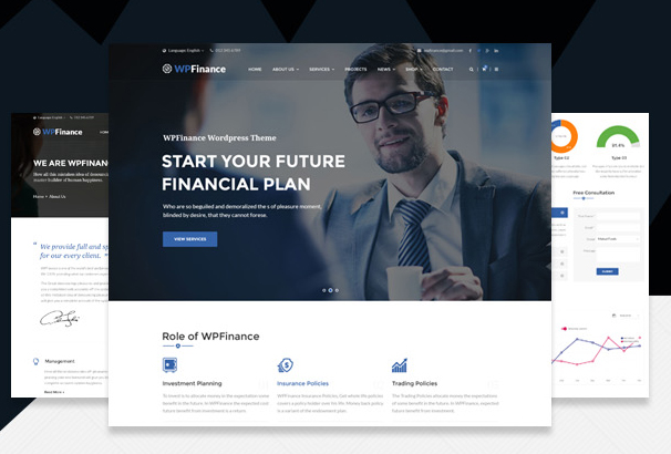 40 best accountant wordpress themes updated for 2018 this is a business wordpress theme that is help full for online presence for corporate business and financial firms we finance is fully responsive cheaphphosting Images