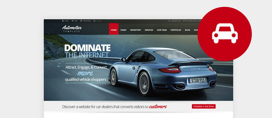 Car & Automotive WordPress Themes