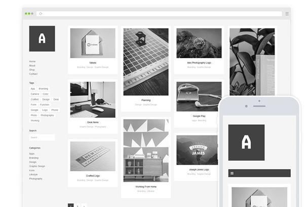 Althea WordPress Theme