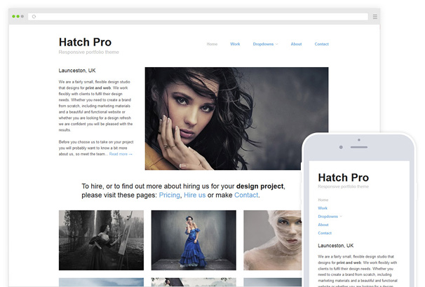 Hatch Pro WordPress Theme