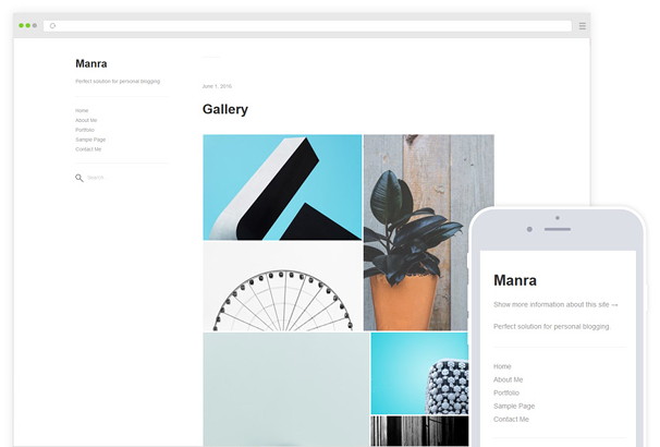Manra WordPress Theme