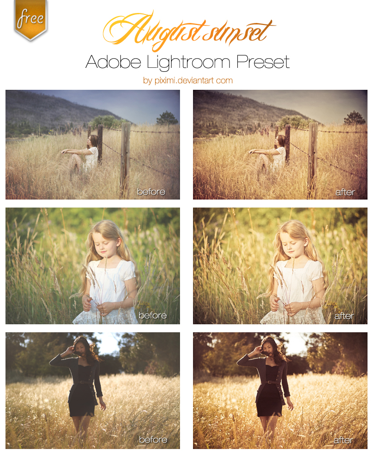 hotography, Lightroom Preset