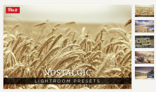 Nostalgic, Free Lightroom Presets, Photography
