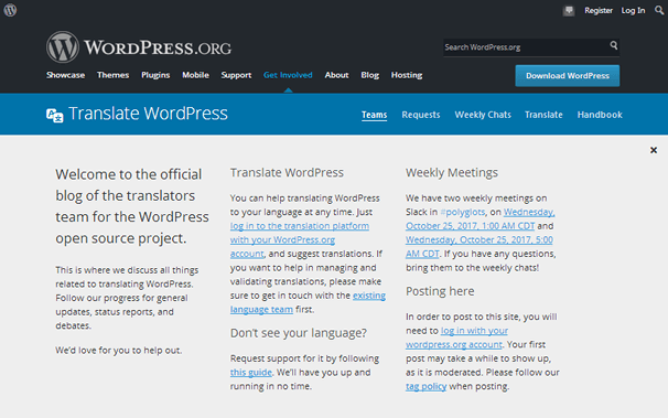 Translate WordPress