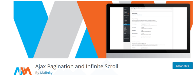 How to add infinite scroll to wp