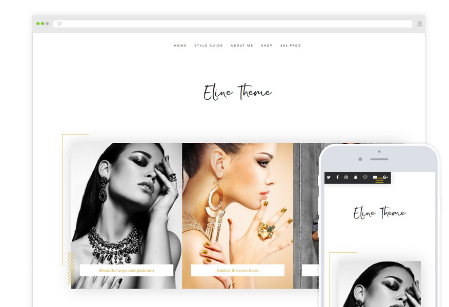 Eline WordPress Theme