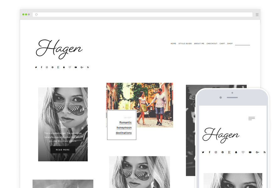 Hagen WordPress Theme