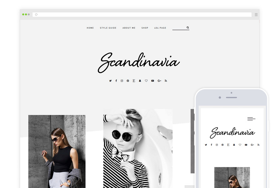 Scandinavia WordPress Theme